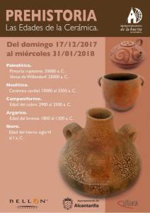 exposicion cerámica museo de la hueta