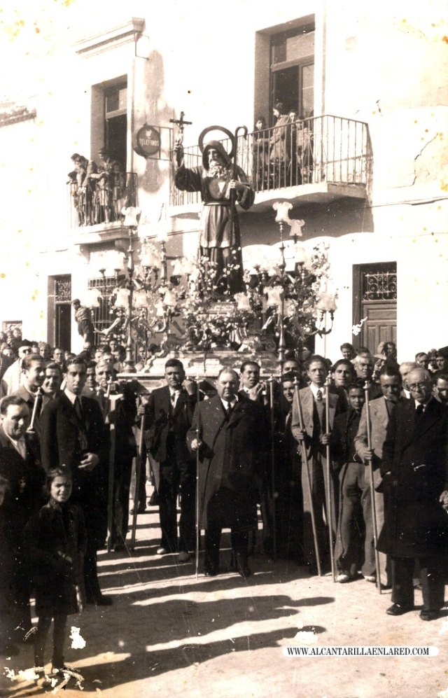 procesion san francisco con lorente yufera rotulada
